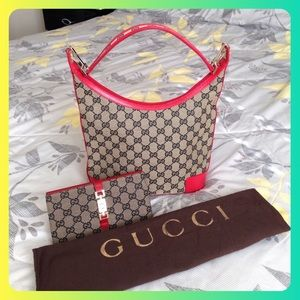 Authentic GUCCI bag and wallet